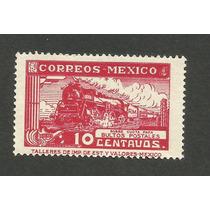 Ferrocarriles 10c Bultos Postales Nuevo Sin Mcharnela Vbf