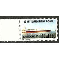 Estampilla Conmemorativa Dia De La Marina Nacional 1977