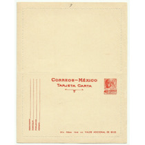 Entero Postal 40 C Cabeza Olmeca