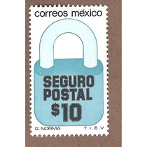 Exporta Seguro Postal Candado $10 5ta Serie Nueva