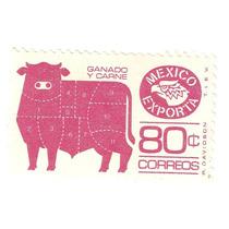 Mexico Exporta Ganado 80 C Ppl Cebolla Perf 11 1/2 X 11
