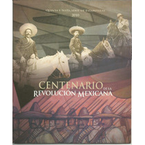 Estampillas Y Librito Revolución Mexicana Centenario Vbf