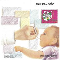 Emisión 91, Mes Del Niño Vacunacion Folleto Primer Dia