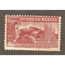 Mexico Caballero Aguila 20 Cents Aerea Nueva Vbf