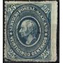 2245 Clasico Hidalgo Scott#173 Azul Gris 25c Usado L H 1885