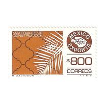 Est. México Exporta Materiales $800.00 10ma Serie Nueva