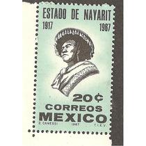 Mexico 50 Aniversario Del Estado De Nayarit