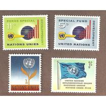 Naciones Unidas Varias Estampillas Nuevas Vbf