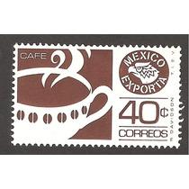Estampilla México Exporta Cafe 40 C Primera Serie Nueva