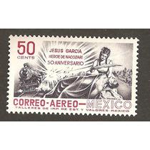 México 1957 50 Aniv. Muerte Jesus Garcia H. Nacozari