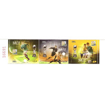 2011 Copa Mundial Sub-17 Fifa 3 S/unidos C/folio Seriado