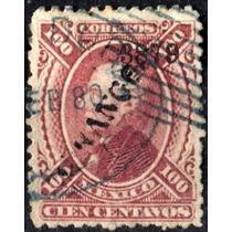2216 Clásico Hidalgo Scott #111 Durango #3878 100c Usado