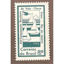 Brasil Campeonato De Vela Barcos 1962 Au1