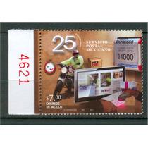 Sc 2747 Año 2011 Servicio Postal Mexicano 25 Aniv Con Folio