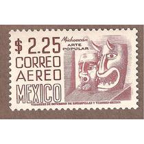 Mascaras Michoacán, Serie Arqueología Nuevo $2.25 C221 Mn4