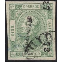 1448 Clásico Hidalgo Perfil S L Potosí#37 72 6c Usado 1873