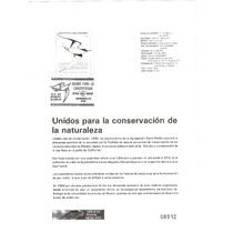 Hoja Carnet Primer Día Unidos Conservacion Baja Calif 1990