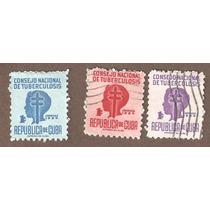 Estampillas De Cuba Lucha Contra La Tuberculosis 1954