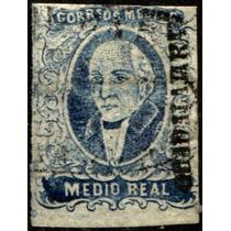 0862 Clasico Hidalgo Dto Guadalajara 0.5 Reales Usado 1856