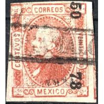 2833 Clásico Perfil S#95 Veracruz #50 73 25c Usado 1873