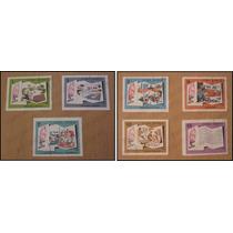 7 Timbres Postal - La Historia Me Absolverá - Castro Cuba 66