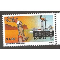 México Turístico Sonora $4.90 Nueva 14a Serie Vbf