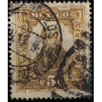 2361 Revolución Naranja Oxidado Scott#314 5c Usado 1910