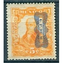 Sc 521 Año 1916 Miguel Hidalgo Independencia + Mono Invertid