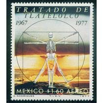 Mexico 1977 Tratado Tlateloloco Con Marca De Agua Nvo Mp Msi