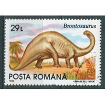 Sc () Año 1993 Posta Romana Dinosaurios Serie Tematica
