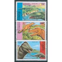 Sc () Año 1993 Congo Dinosaurios Serie Tematica