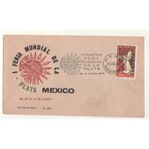 L527-sobre Primer Día Feria Mundial De La Plata 1974
