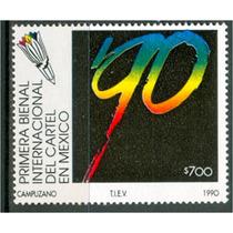 Sc 1644 Año 1990 Primera Bienal Internacional Del Cartel De