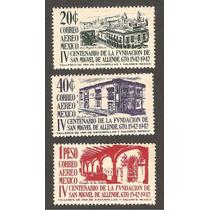 400 Años Fundación San Miguel Allende Serie Aérea 1943