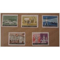 5 Timbres Postal * Docencia - Maestros - Educación * Cuba 66