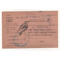No.18-papeleria Postal Usada Con Sello México Exporta-