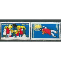 Sc 1635-1636 Año 1989 Navidad