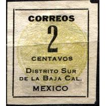 1472 México B California Diligencias 2c Nuevo L H 1914