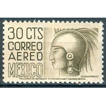 Sc C190 Año 1950 Cuauhtemoc 30c Con Wm 279