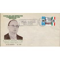 México, Sobre 1er Día, Carta De Los Derechos Y Deberes 1974