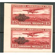 Sc C45a Año 1932 Avion Volano Sobre El Campo