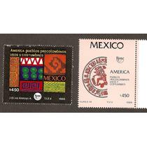Estampillas Serie América 1989 Upae