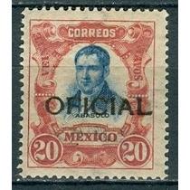Sc O82 Año 1911 Oficial Mariano Abasolo 20c