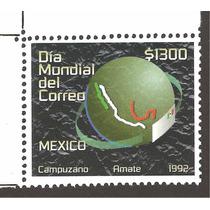 Mexico Dia Mundial Del Correo 1992