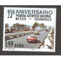 Mexico 1977 Aniv. Autopista Mex - Cuernavaca Autos