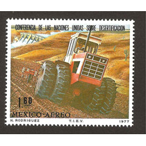Mexico 1977 Conferencia Desertificación Tractor Vbf