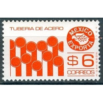 Sc 1121 Año 1975 Exporta Serie 6 Tuberias De Acero 6p Naranj