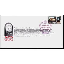 0120 México Carta Primer Día 475 Aniv Fundación Colima 1994