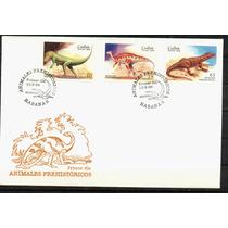 0139 Cuba Carta Primer Día Serie 3 S Dinosaurios 1999