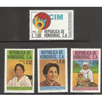 Honduras Comisión Interamericana De Mujeres 1978